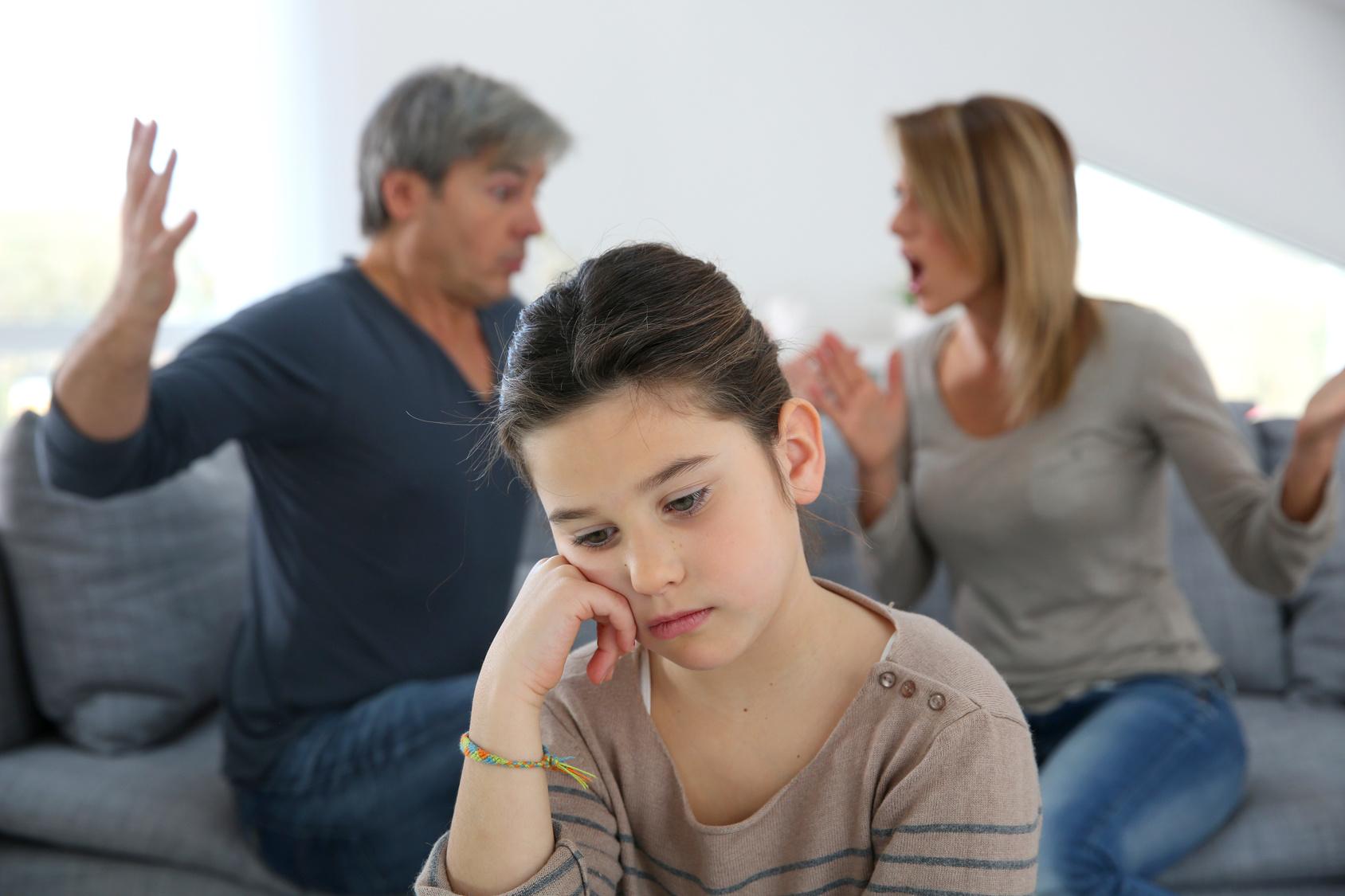 dzieci przy rozwodzie rodziców